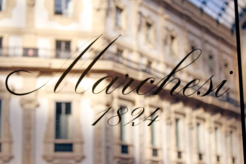 Pasticceria Marchesi presso Boutique Uomo Prada di Galleria Vittorio Emanuele_Artebianca