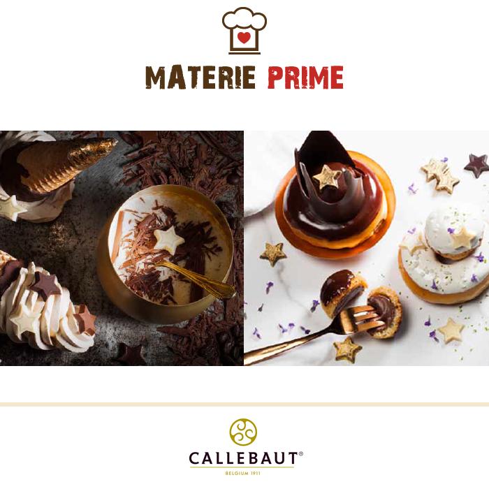 Stelle in cioccolato Callebaut