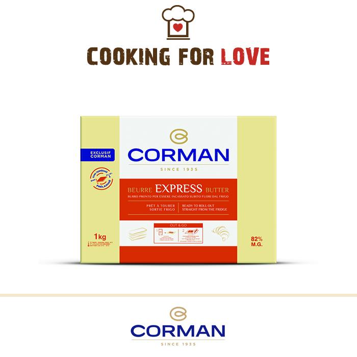 Burro Corman Express 82% m.g.