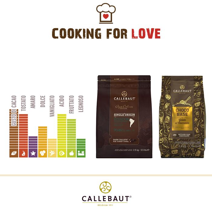 Cioccolato Single Origin Ecuador Callebaut