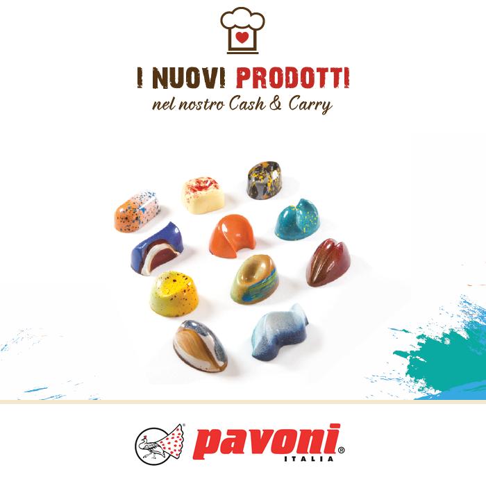 Stampi per praline - Antonio Bachour per Pavoni Italia