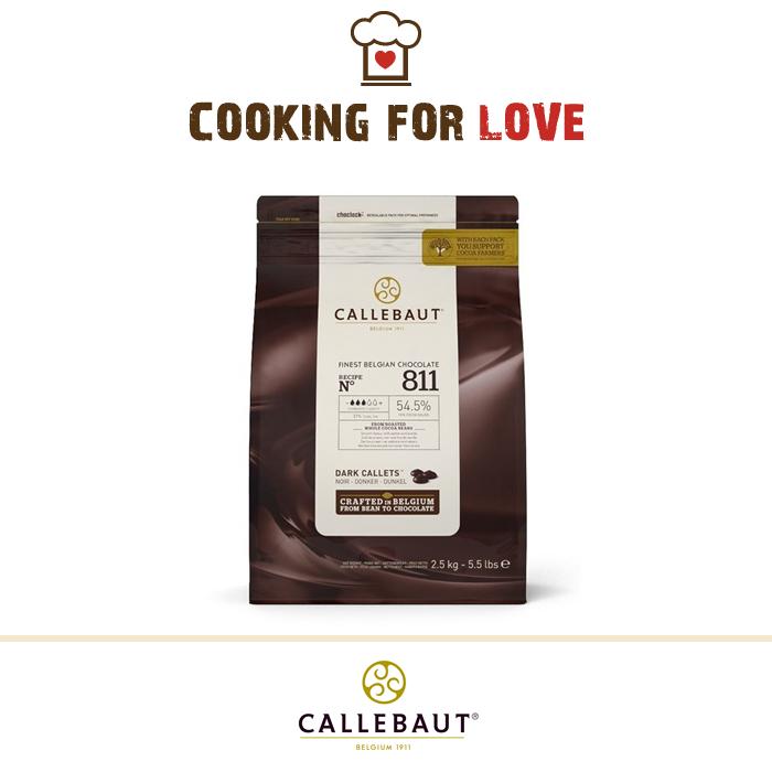 Finissimo Cioccolato Belga Callebaut Fondente 811