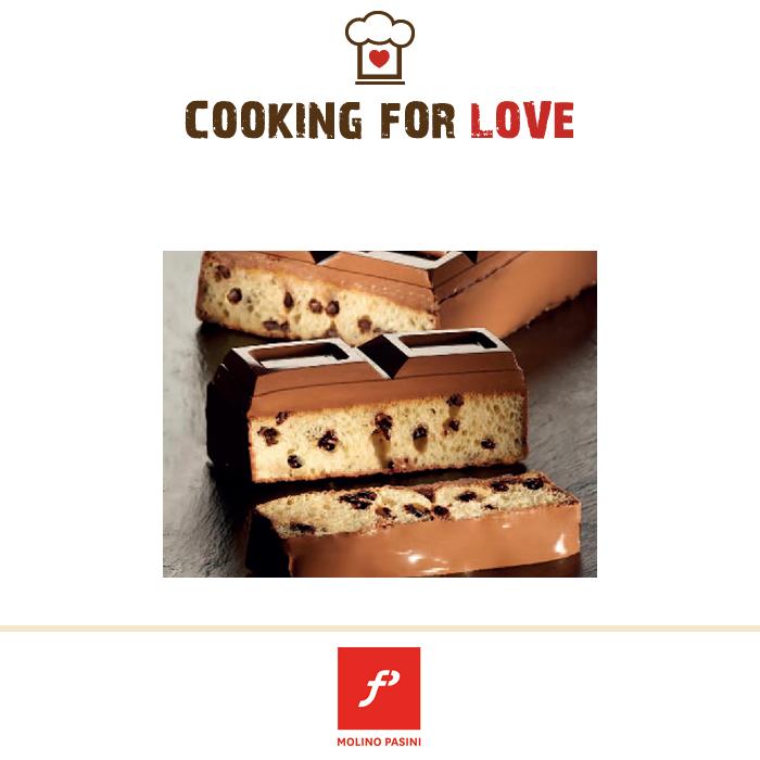 Focaccia dolce e cioccolato fondente - Molino Pasini