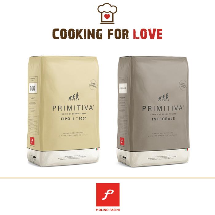Farina Primitiva Integrale - Farina Primitiva 100 - Molino Pasini