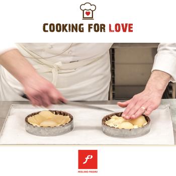 Torta pere e cioccolato - Molino Pasini