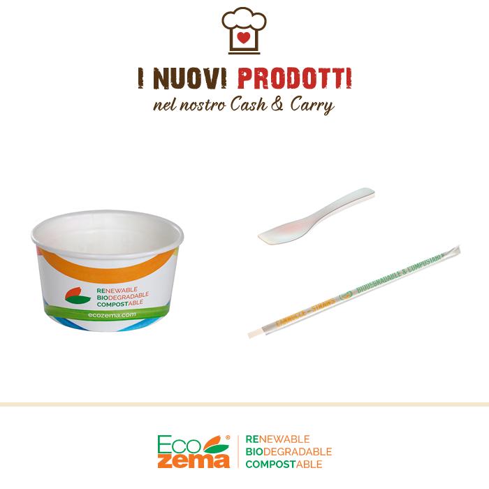 ECOZEMA® - prodotti monouso per il catering biodegradabili e compostabili
