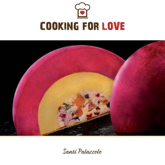 Pezzetto con frutti di bosco e mango - Dolce Sicilia - Santi Palazzolo