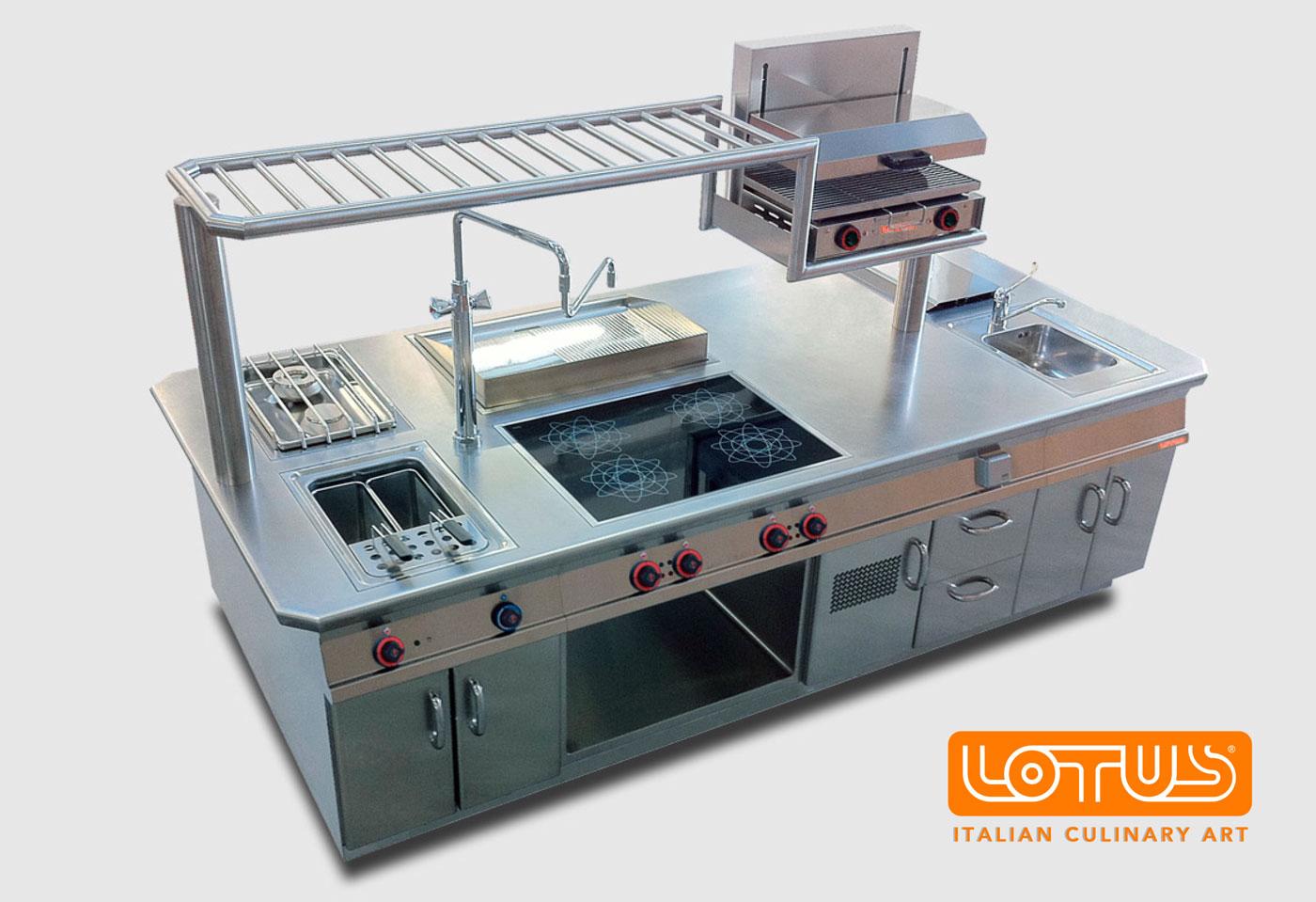 Cucine lotus modularità ed estetica per una cucina di qualità e