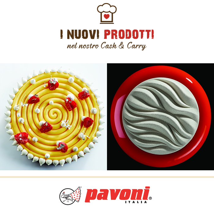 Stampi in silicone TOP - Pavoni Italia