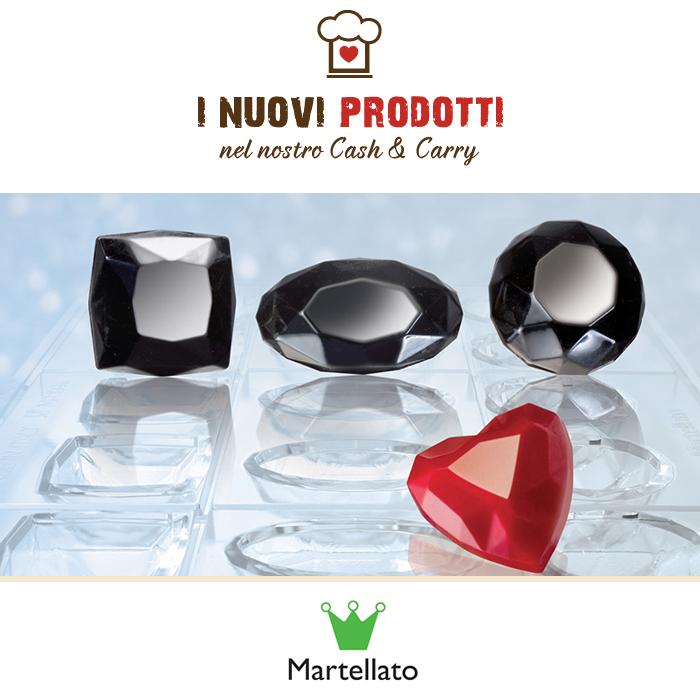 Diamond Chocolate Jewels - Martellato