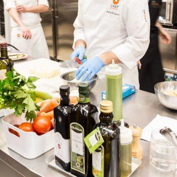 La cucina biologica alla terza lezione di Chef