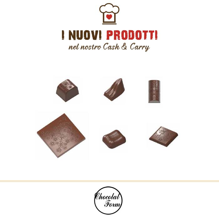 Stampi in policarbonato Chocolat Form