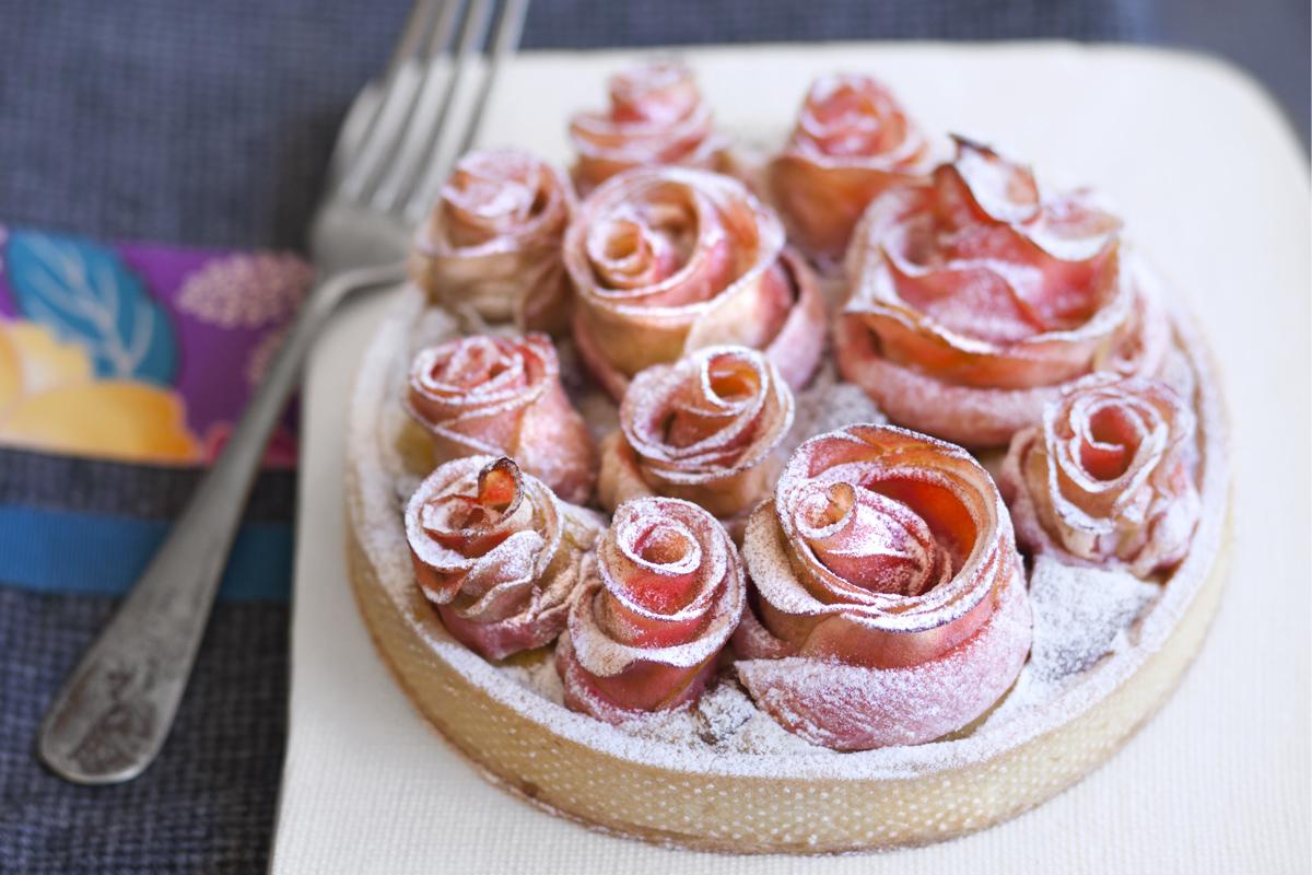 Torta rose di mele - Molino Pasini