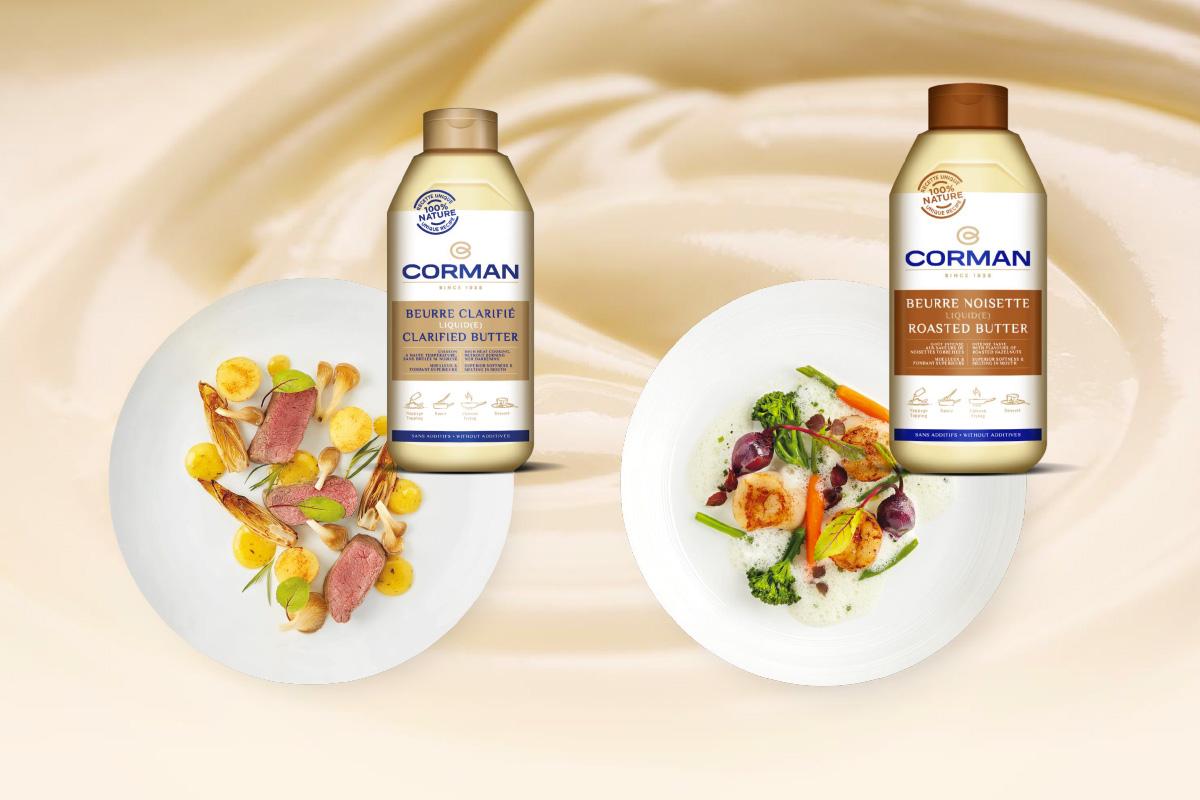 L�innovazione si fa praticit� con i Burri Liquidi Corman in bottiglia!
