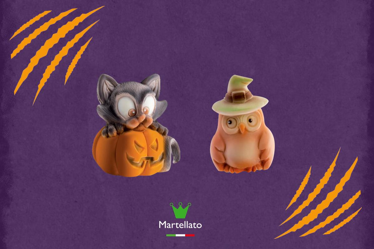 Dolci Halloween.Decorazioni In Silicone Per I Dolci Di Halloween Artebianca Blog