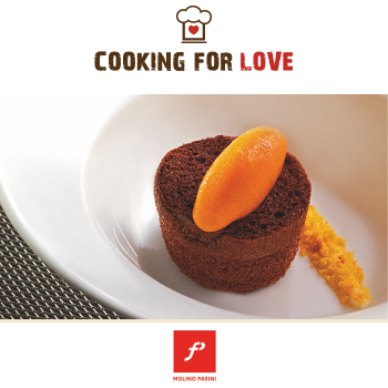 Babà cacao e carota - Molino Pasini