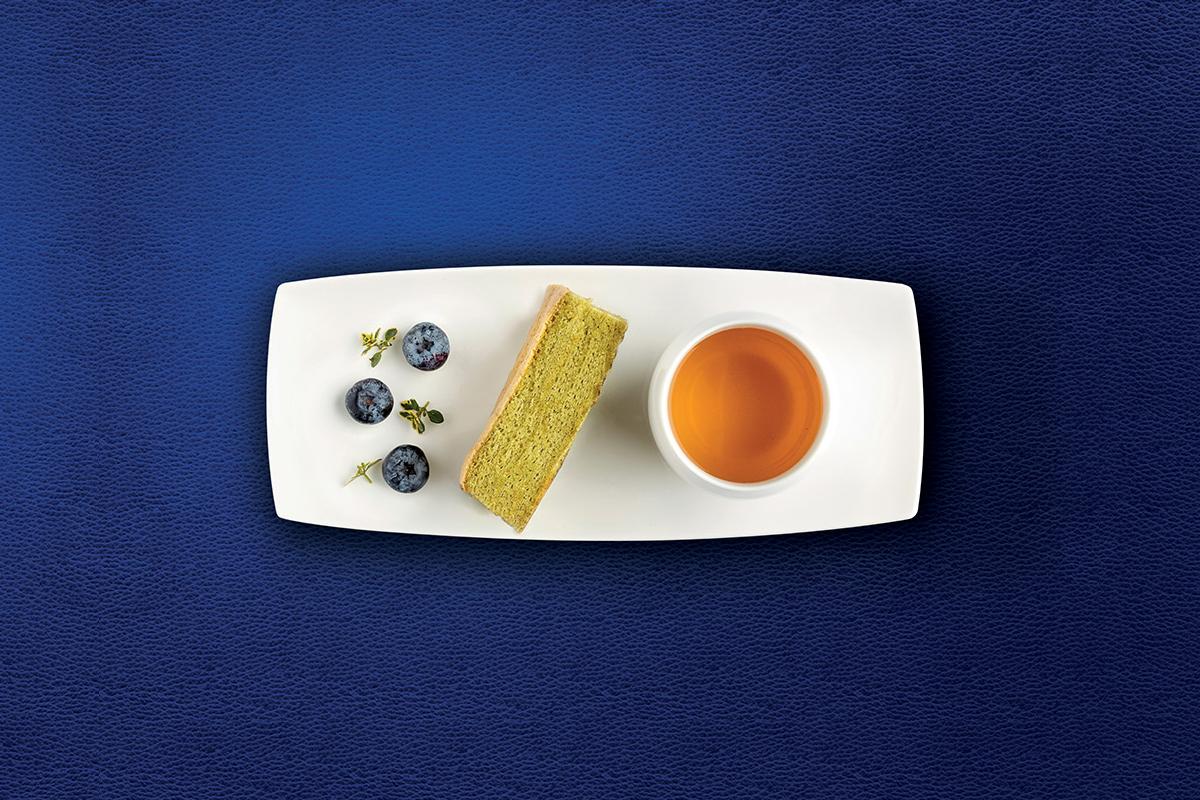 Biscuit soffice al tè matcha - Corman