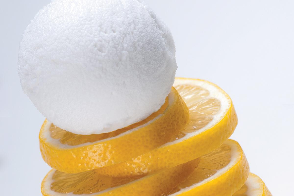 Sorbetto al limone - Angelo Grasso