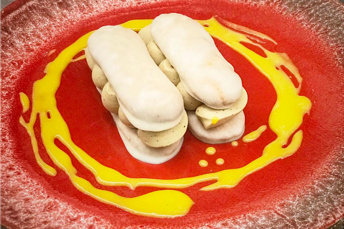 �simarit, savoiardi al triplo mascarpone con crema di caff�, cacao e note di crema all�uovo
