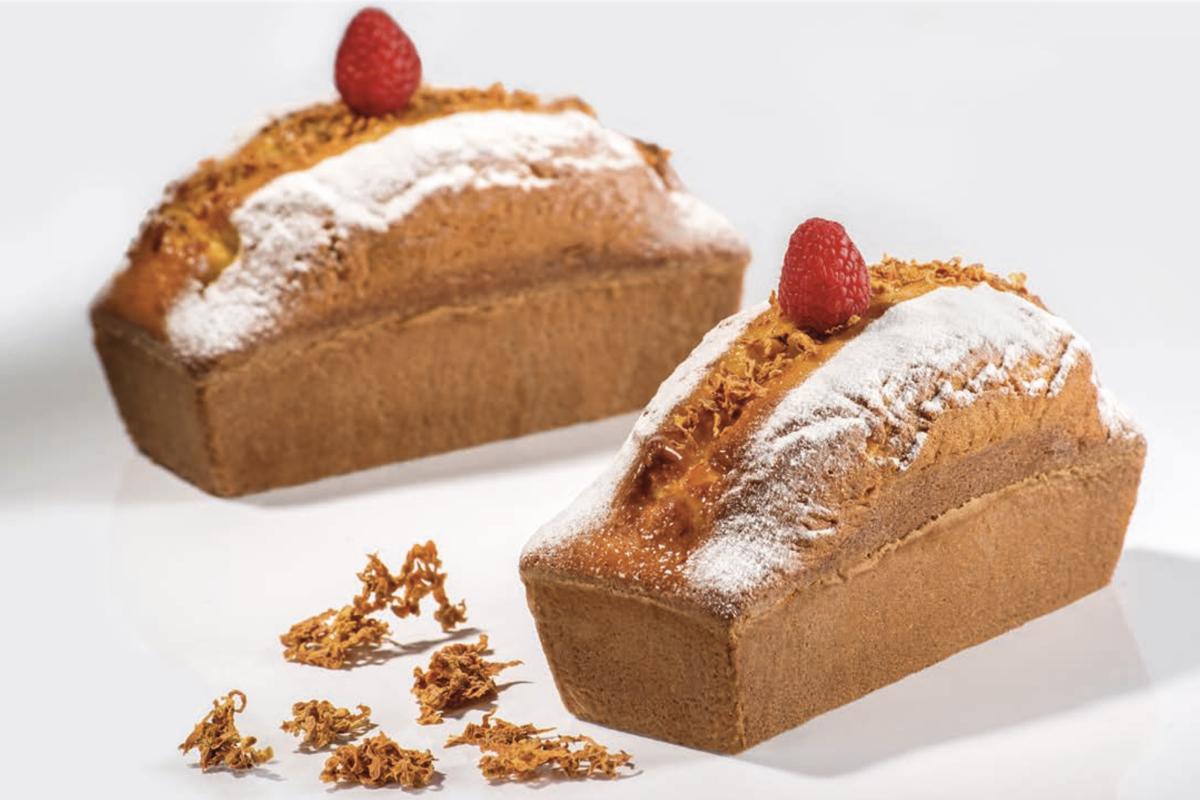 Cake zenzero & lamponi